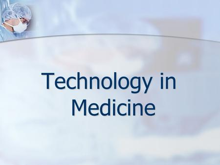Technology in Medicine. Computers in health care Computers in health care Medical information systems Medical information systems Administrative applications.