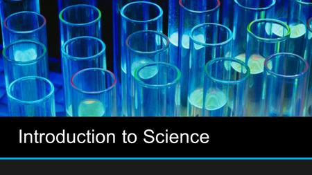 Introduction to Science