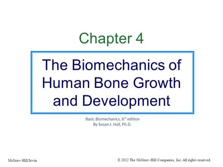The Biomechanics of Human Bone Growth and Development