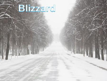 What is blizzard? Blizzards are winter storms that pack a combination of blowing wind. A blizzard is usually created when strong winds pick up snow that.