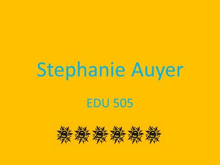 Stephanie Auyer EDU 505. Introduction Welcome to the 4 th grade E-lab Webquest. Your time is limited, so it is important to stay focused. Work hard and.