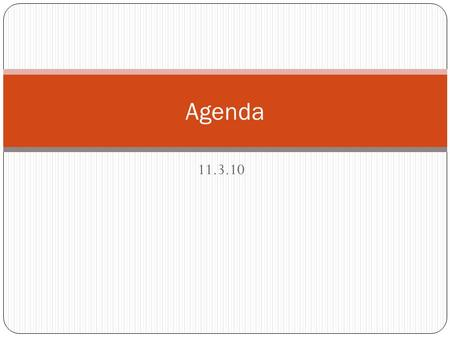 11.3.10 Agenda. The Scientific Revolution Enlightenment and Revolution 1550 - 1789.