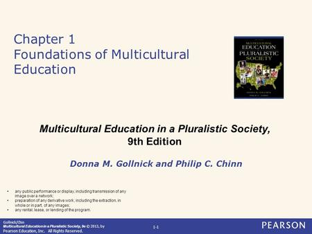Chapter 1 Foundations of Multicultural Education