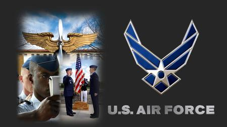 What is the USAF?  What is AFROTC?  Student Organizations  Scholarships  VTCC Relationship  Joining Us.