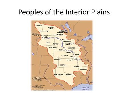 Peoples of the Interior Plains. The Sarcee The Blackfoot The Gross Venture The Assiniboin The Plains Cree The Plains Ojibwa The Plains Natives included.