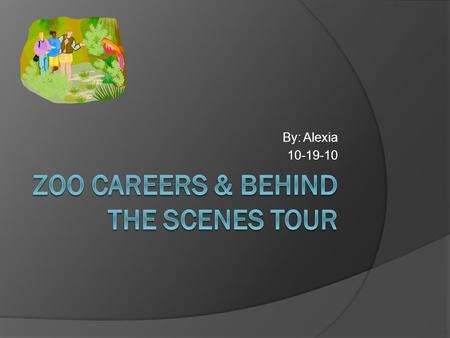 Zoo Careers & Behind the Scenes Tour