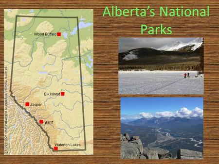 Alberta's National Parks. Banff National Park In 1883, three Canadian Pacific Railway construction workers stumbled across a cave containing hot springs.