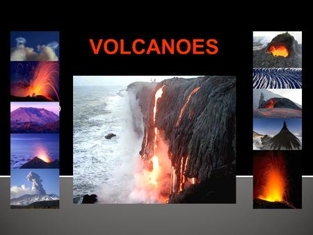 By Mr. D.  A volcano is a mountain that forms when magma reaches the surface of the Earth.  Magma rises because it is less dense than the solid rock.