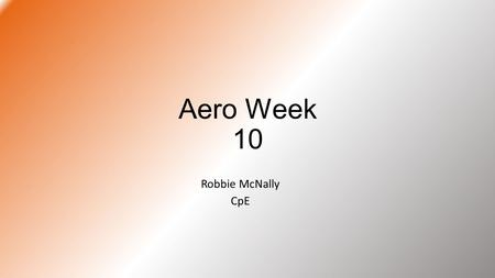 Aero Week 10 Robbie McNally CpE. Optimus Prime Startup Code Sends a message saying program has started Checks for SD card and notifies user of result.