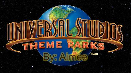 For more than 85 years, Universal Studios has been bringing unique entertainment experiences to millions of people around the world. The only 4 Universal.
