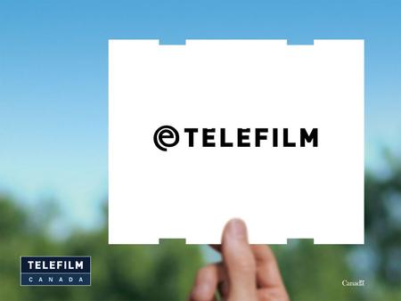 2 It's an eCommerce portal for use by Telefilm Canada's clients User profile: –Summary of information related to applications, disbursements conditions,