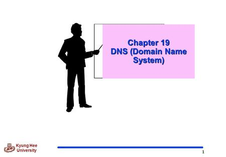 1 Kyung Hee University Chapter 19 DNS (Domain Name System)