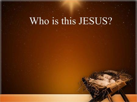 Who is this JESUS?. All I want for Christmas is a little space..