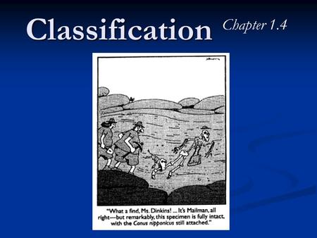 Classification Chapter 1.4. Vocabulary 1. taxonomy 2. binomial nomenclature 3. classification 4. domain 5.Eubacteria 6. Archaebacteria 7. Eukarya 8. Protista.