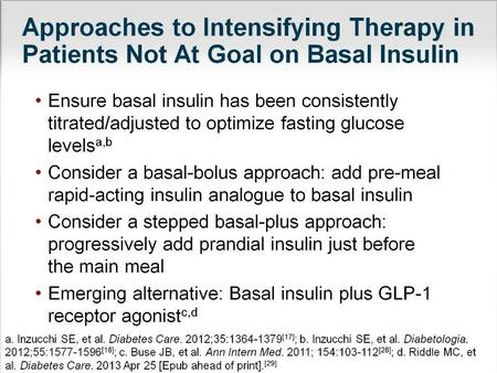 Adding Prandial Insulin to Basal Insulin: Key Challenges