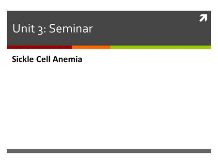  Unit 3: Seminar Sickle Cell Anemia. Types of Biomolecules Figure 2-17 Molecular Biology of the Cell (© Garland Science 2008)