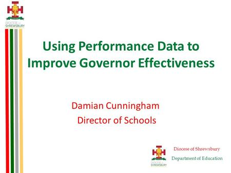 Using Performance Data to Improve Governor Effectiveness