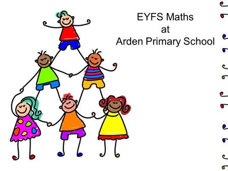 EYFS Maths at Arden Primary School