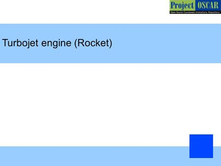 Turbojet engine (Rocket)‏