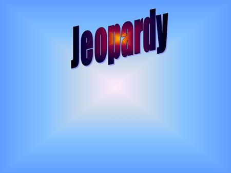 Final Jeopardy Question POV (Point of View) Vocab. 500 Plot Chart ??? Conflict & Vocab. Cont. Conflict & Identity 100 200 300 400 500 400 300 200 100.