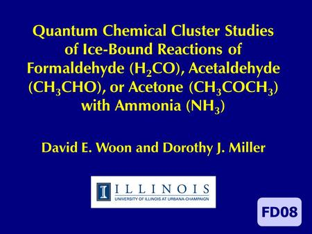 Quantum Chemical Cluster Studies of Ice-Bound Reactions of Formaldehyde (H 2 CO), Acetaldehyde (CH 3 CHO), or Acetone (CH 3 COCH 3 ) with Ammonia (NH 3.