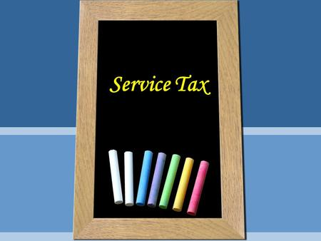 Service Tax. Introduction Service Tax was introduced in 1994 vide Finance Act, 1994 with 3 SERVICES namely, Brokerage charged by stockbroker, Telephone.