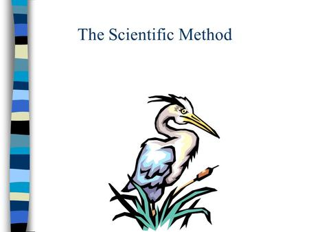 The Scientific Method. UNIT OBJECTIVES 1. Define the concept of science as a process. 2. List the steps of the scientific method 3. Determine type of.