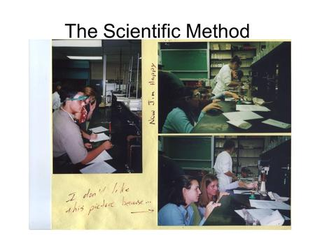 The Scientific Method. Parts of an Experiment Independent variable; Input, the manipulated variable. What the experimenter chooses to change Dependent.