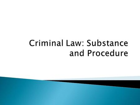 criminal behavior and the law Start studying criminal law i definitions learn vocabulary, terms, and more with flashcards,  in the criminal law, behavior and its accompanying mental state.