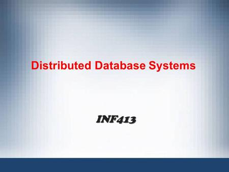 Distributed Database Systems INF413. ADO.NET is a set of classes that comes with the Microsoft.NET framework to facilitate data access from managed languages.