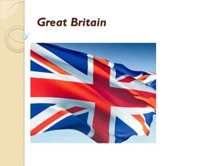 Great Britain. Climate of Great Britain Great Britain is situated on the islands. It is washed by seas from all the sides. That's why the climate and.