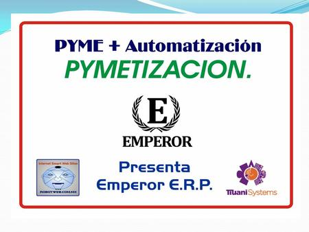 ¿Cómo trabaja un E.R.P.? 8 Employees Managers and Stakeholders Central Database Reporting Applications Human Resource Management Applications.