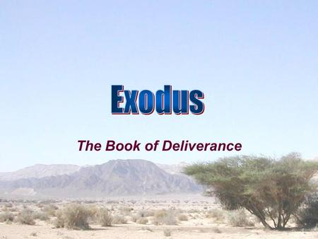 The Book of Deliverance