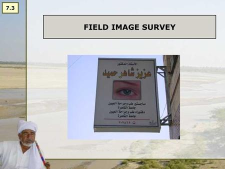 FIELD IMAGE SURVEY 7.3. A DIGITAL CAMERA IS AN IMPORTANT RESEARCH TOOL.