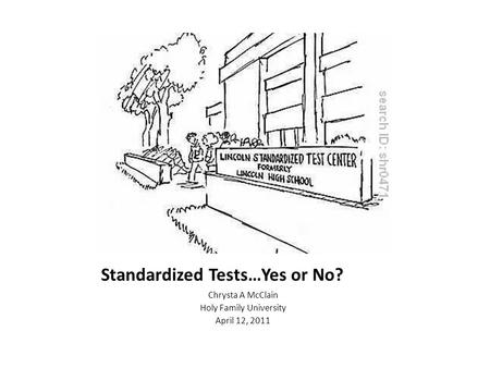 Essay on standardized testing pros and cons
