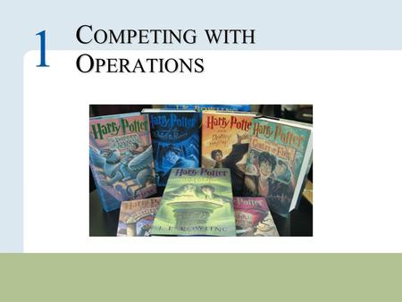 COMPETING WITH OPERATIONS