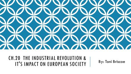 industrial revolution impact western society The impact of the industrial revolution sociology the industrial revolution has had on our society by looking to the origins of modern western society.