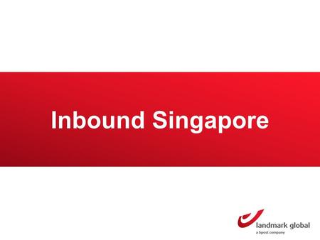 Inbound Singapore. Singapore Market overview Singapore has a population of 5.4 million inhabitants 4.4 million buy online Online sales amounted to a value.