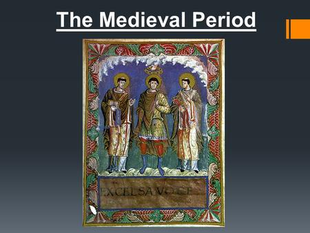 The Medieval Period. Social Structure  King and Queen  Ruled over all of the land except for the Church  Nobles  Paid taxes to kings for favors and.