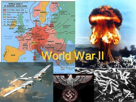 World War II. Causes for World War Two EconomicPoliticalSocial.
