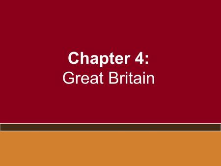 Chapter 4: Great Britain. The End of the Blair Decade –Successes and popularity of first term did not last –Dissatisfaction with Labour –Unpopularity.