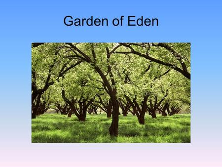 "Garden of Eden. Mark Twain wrote, ""The Diaries of Adam and Eve"" He suggests that Adam wrote: This new creature with the long hair is a good deal in the."