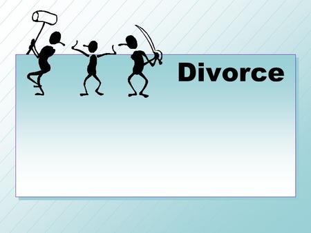 Divorce. Factors Leading to Divorce The most common cause of divorce is selfishness.The most common cause of divorce is selfishness. It may be selfishness.
