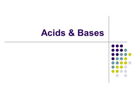 Acids & Bases. Models Arrhenius' definition says that acids contain a hydrogen ion and bases contain a hydroxide ion. But Arrhenius' model cannot explain.