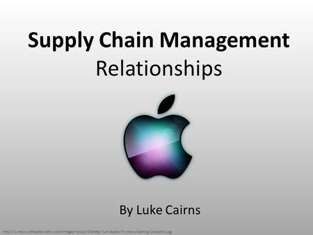 Supply Chain Management Relationships