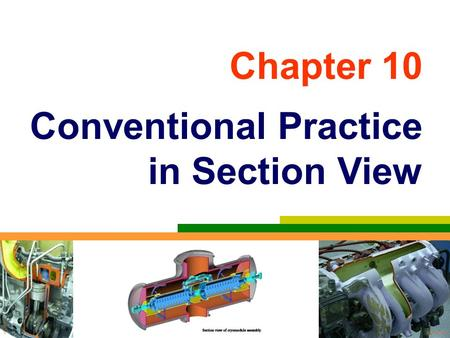 Chapter 10 Conventional Practice in Section View.