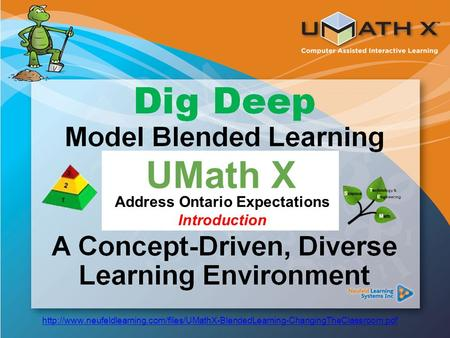 Common Core Standards UMath X Address Ontario Expectations Introduction