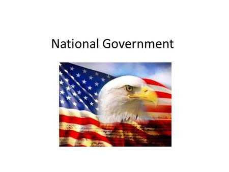 National Government.
