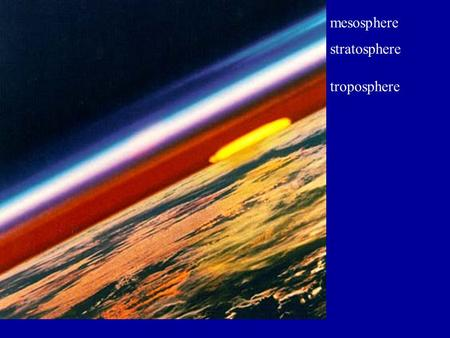 Troposphere stratosphere mesosphere. What is Ozone? Chemical Formula is O 3 Found in the Stratosphere (good) and Troposphere (bad). Stratosphere ozone.