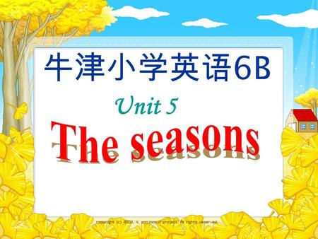 Unit 5 牛津小学英语 6B What's the weather like in … ? It's ….